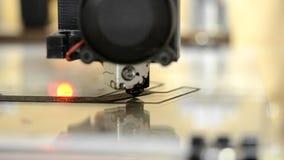在工作的叠加性3d打印机 顺序 影视素材