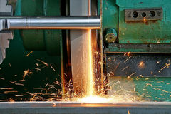 在工具的生产工作 库存照片
