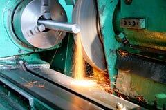 在工具的生产工作 免版税库存图片