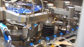 在工厂的配药制造业线 配药质量管理 影视素材