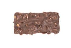 在巧克力的曲奇饼 库存照片