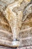 在巨大浴里面的废墟在别墅艾德里安娜, Tivoli 免版税库存照片