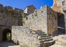 在已分解的老堡垒,克罗地亚 免版税图库摄影