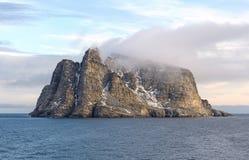 在巴伦岛的沿海云彩 图库摄影