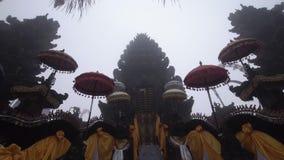 在巴厘岛的印度寺庙 股票视频