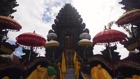 在巴厘岛的印度寺庙 影视素材