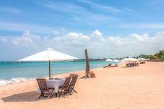 在巴厘岛的海滩 库存照片