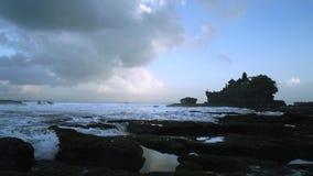 在巴厘岛Tanah全部寺庙的停止运动 股票录像