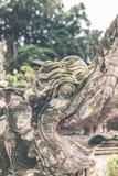 在巴厘语寺庙的印度石雕象 巴厘岛,印度尼西亚热带海岛  库存照片