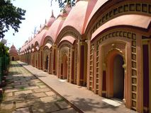 在巴尔达曼的108个寺庙在印度 免版税库存图片