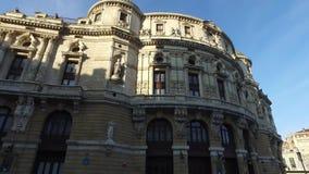 在巴斯克语或Teatro阿里亚加的阿里亚加antzokia用西班牙语是一个歌剧院在毕尔巴鄂,西班牙 股票录像