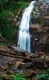 在巴西海岸的美丽的瀑布 图库摄影
