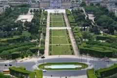 在巴黎之上 免版税图库摄影