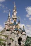 在巴黎公园附近的迪斯尼乐园 免版税库存照片