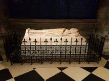 在巴黎圣母院里面 库存图片