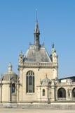 在巴黎附近的城堡chantilly 图库摄影
