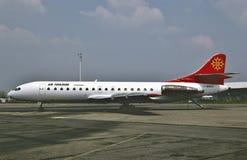在巴黎, 1992年5月7日的法国宣扬图卢兹Sud SE-210 Caravelle 10B3 库存照片
