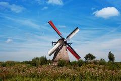 在市乌得勒支附近防御德哈尔在荷兰在夏天 库存图片