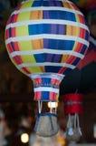在市场上的纪念品气球 库存照片
