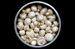 在市场上的蘑菇 免版税库存图片