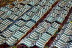 在市场上的遮篷 库存图片