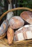 在市场上的面包 库存图片