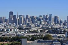 在市场南部,旧金山 免版税库存图片