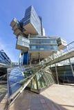 现代建筑学在汉诺威,德国 库存照片