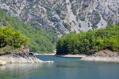 在市的绿色峡谷Manavgavt附近 免版税库存图片