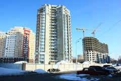 新的楼房建筑 图库摄影