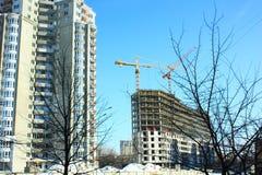 新的楼房建筑 库存图片