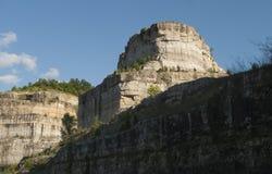 在布兰松附近的西南密苏里风景 免版税库存照片