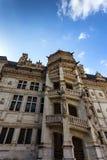 在布卢瓦城堡的塔  库存图片