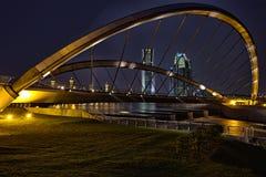 在布城水坝的桥梁 库存图片