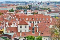 在布拉格市的惊人的看法 免版税图库摄影