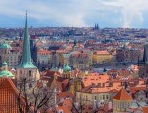 在布拉格视图 免版税库存图片