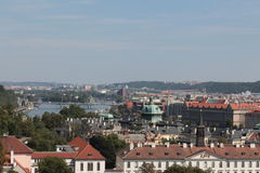 在布拉格视图 库存图片