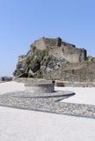 在布拉索夫附近的Devin城堡。 斯洛伐克 免版税图库摄影