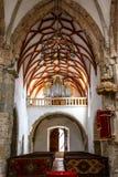 在布拉索夫附近的Prejmer被加强的教会 库存图片