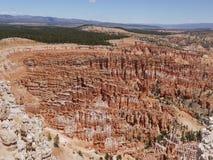 在布赖斯峡谷,犹他,美国的岩层 库存图片