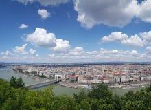 在布达佩斯的看法 库存图片