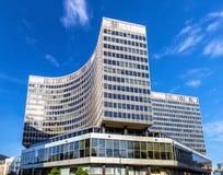 在布鲁塞尔集中Monnaie,一个商业中心 免版税图库摄影