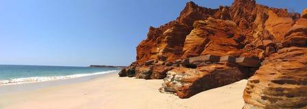 在布鲁姆,西澳州附近的海角勒维克 免版税库存照片