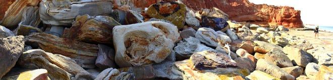 在布鲁姆,西澳州附近的海角勒维克 库存图片