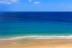 在布鲁尼岛的原始海滩 免版税库存照片