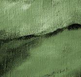 在帆布的灰色绿色抽象绘画 库存例证