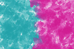 在帆布背景的抽象五颜六色的油画 库存图片