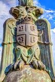 在帆柱HDR图象的老鹰乐队 免版税库存照片