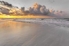 在希尔顿黑德岛的日出 图库摄影