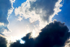 在希腊欧洲神秘主义者自然的热带天空 库存图片